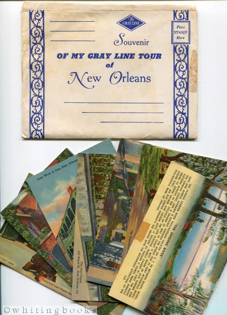 Image for Gray Line Tour of New Orleans Souvenir Post Cards with Original Envelope
