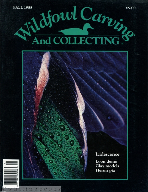 Image for Wildfowl Carving and Collecting - Fall 1988