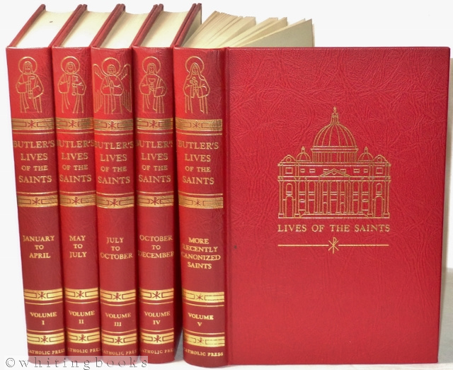 Image for The Lives of the Fathers, Martyrs and Other Principal Saints - 5 Volume Set