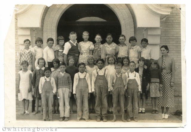 Image for Rock Island, Colorado County, Texas 1930s School Class Photo