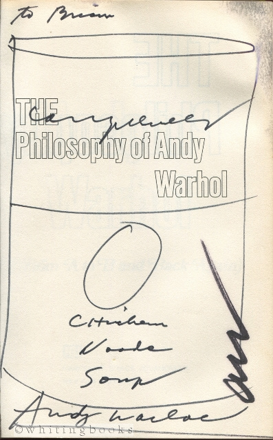 Image for The Philosophy of Andy Warhol (From A to B and Back Again)