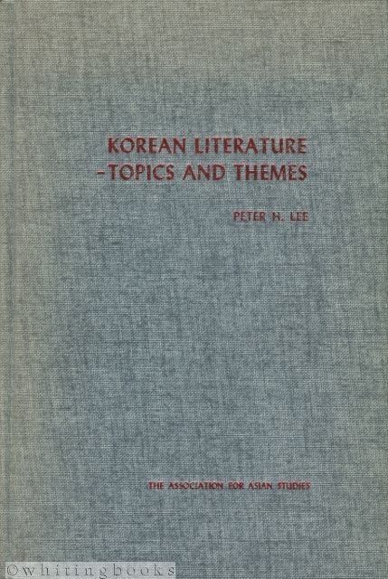 Image for Korean Literature: Topics and Themes