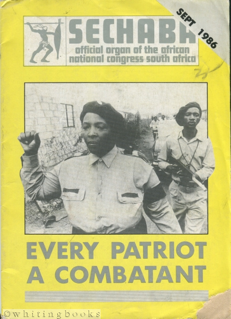 Image for Sechaba - September 1986 - Offical Organ of the African National Congress South Africa