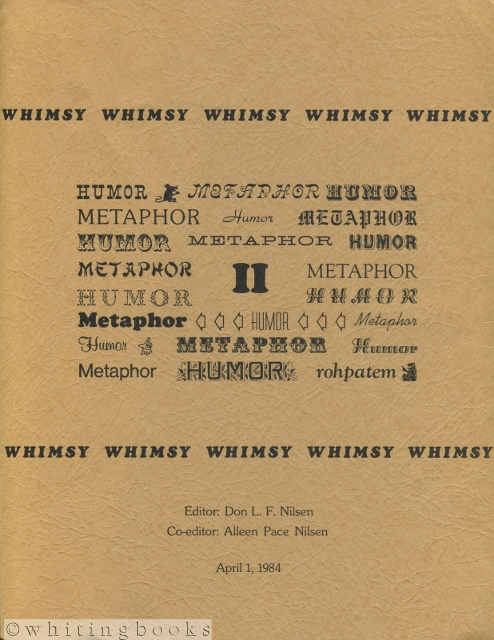 "Image for WHIMSY II: Western Humor and Irony Membership Serial Yearbook - Proceedings of the 1983 WHIM Conference: ""Metaphors be with You: Humor and Metaphor"""