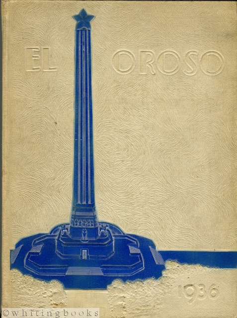 Image for El Oroso Centennial Edition 1936, Volume Ten:  The 1936 San Jacinto High School Yearbook; Houston, Texas (Signed Twice by LSU/NFL Football Star, Young Bussey, Senior Class)