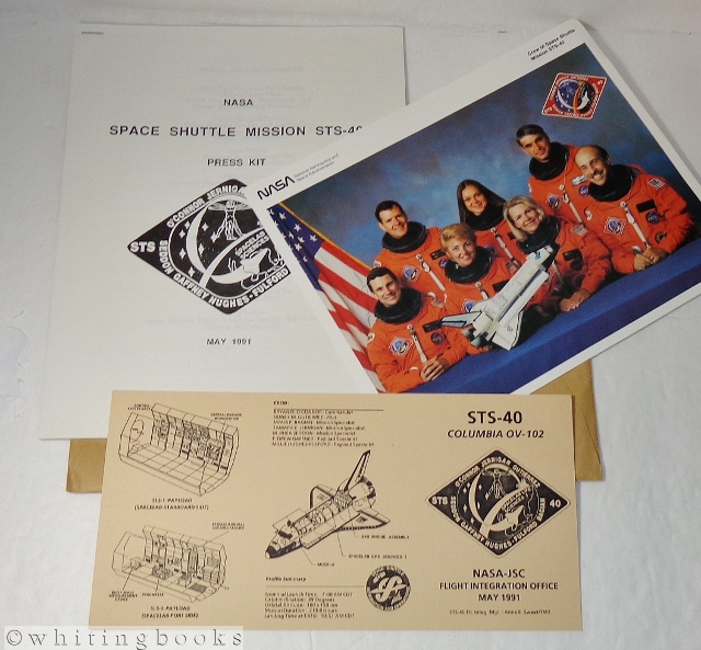 Image for Space Exploration Memorabilia: Space Shuttle Mission STS-40 Columbia Press Kit, May 1991