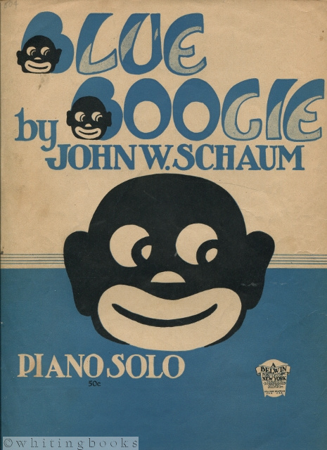 Image for Blue Boogie Piano Solo [Sheet Music]