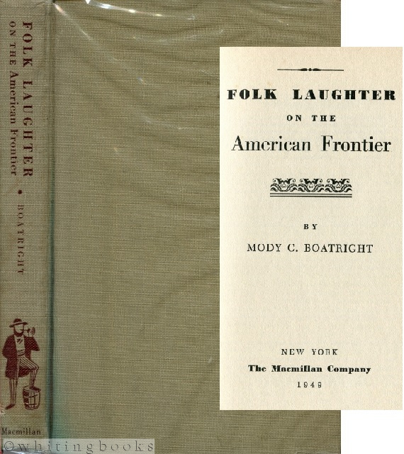 Image for Folk Laughter on the American Frontier