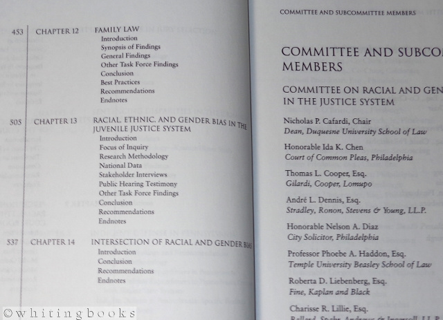 Image for Final Report of the Pennsylvania Supreme Court Committee on Racial and Gender Bias in the Justice System [2003]
