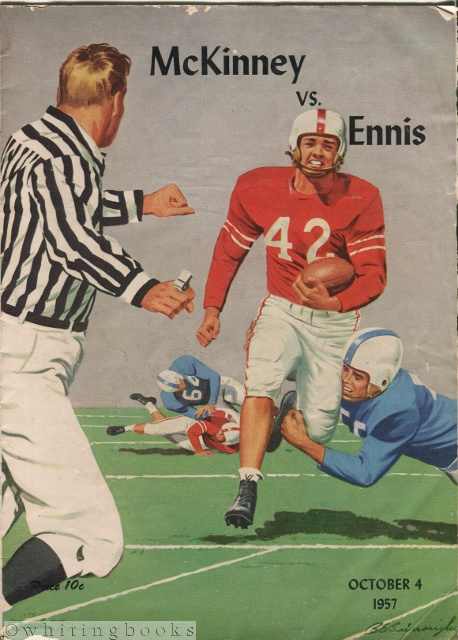 Image for Texas High School Football Program, 1957 - McKinney vs. Ennis