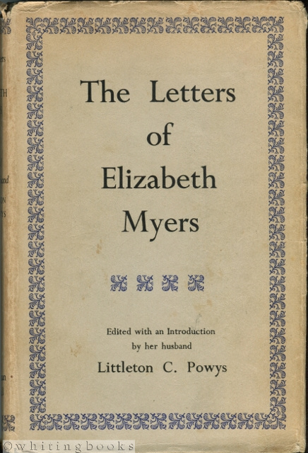 Image for The Letters of Elizabeth Myers