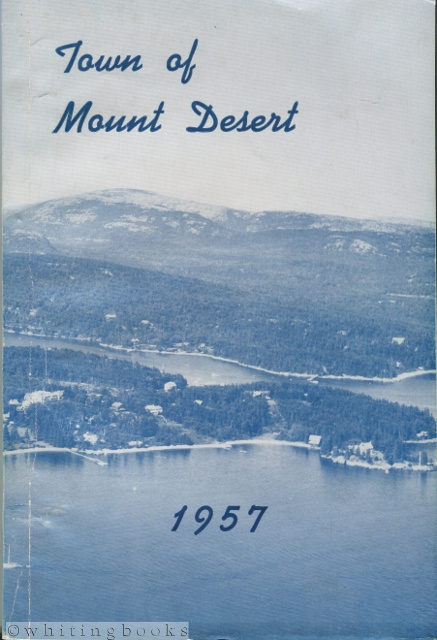 Image for Annual Report of Town of Mt. Desert [Maine] for 1957