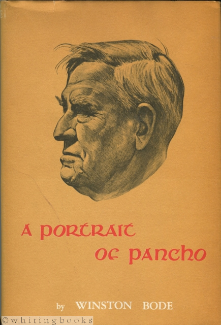 Image for A Portrait of Pancho - The Life of a Great Texan: J. Frank Dobie