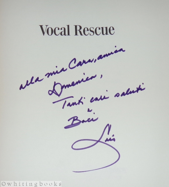 Image for Vocal Rescue: Rediscover the Beauty, Power and Freedom in Your Singing