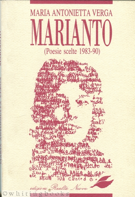 Image for Marianto (Poesie Scelte 1983-90)