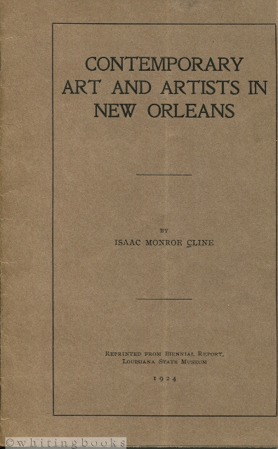 Image for Contemporary Art and Artists in New Orleans [1924]