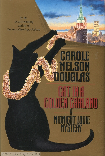 Image for Cat in a Golden Garland: A Midnight Louie Mystery (Midnight Louie Mysteries)