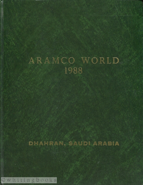 Image for Aramco World Magazine Volume 39 Complete  (6 Issues) Hardbound