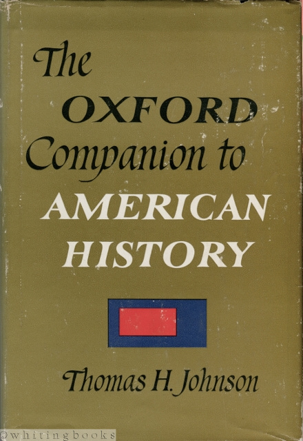 Image for The Oxford Companion to American History