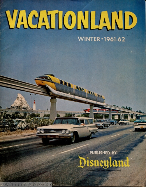 Image for Vacationland [Disneyland] Winter 1961-62 - Vol. V No. 4