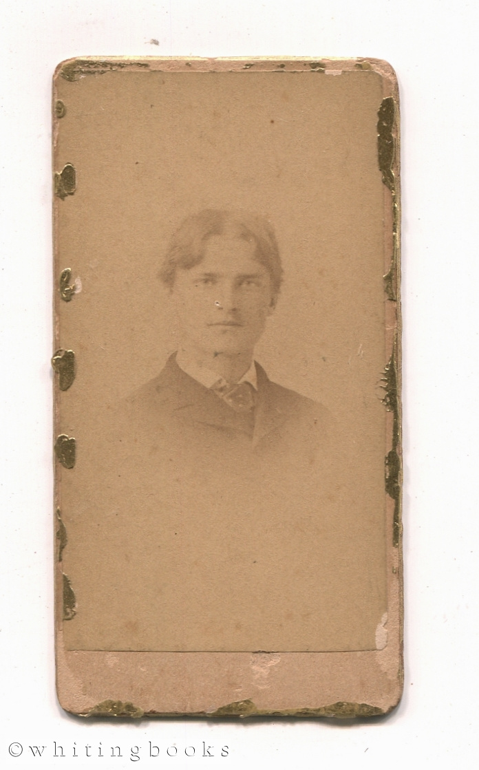 Image for Small Carte de Visite Photograph Ambrose White Vernon - Dartmouth Yale Harvard