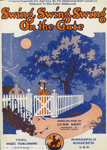 Image for Swing, Swing, Swing on the Gate [Sheet Music]