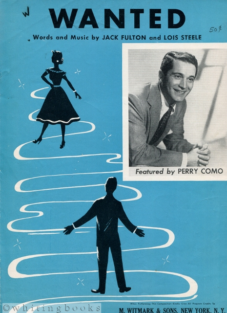 Image for Wanted, Featured by Perry Como [Sheet Music, M.W. & Sons 21102-2]