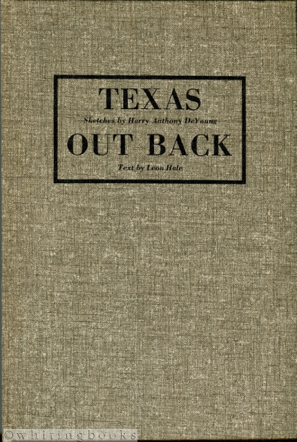 Image for Texas Out Back, Sketches by Harry Anthony DeYoung