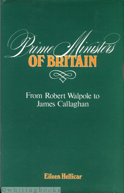 Image for Prime Ministers of Britain: From Robert Walpole to James Callaghan