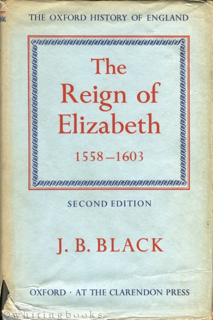 Image for The Reign of Elizabeth 1558-1603