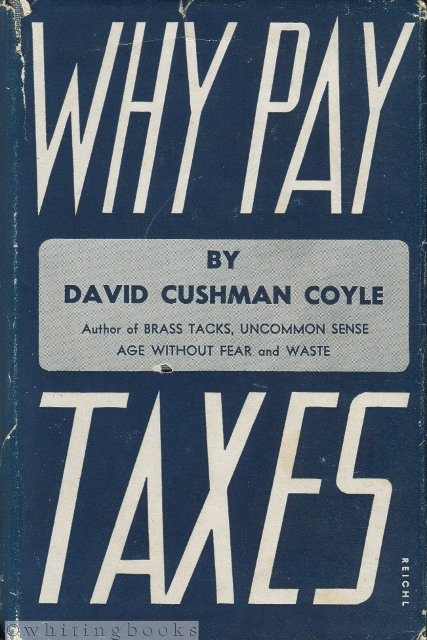Image for Why Pay Taxes