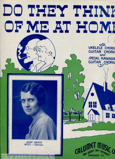 Image for Do They Think of Me at Home [Sheet Music], with Ukulele Chords, Guitar Chords and Special Hawaiian Guitar Chords