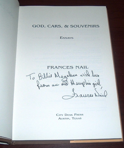Image for God, Cars and Souvenirs : Essays