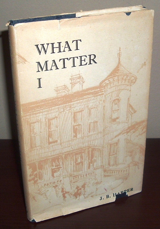 Image for What Matter I