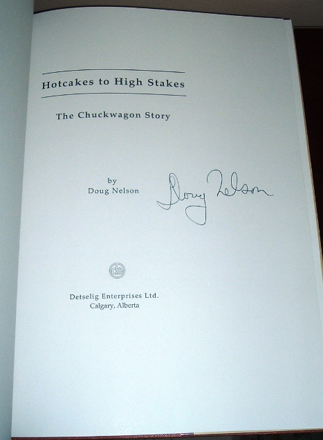 Image for Hotcakes to High Stakes: The Chuckwagon Story