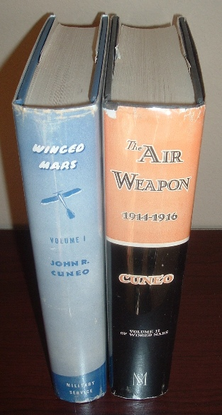Image for Winged Mars (Two-Volume Set) - Volume I: The German Air Weapon 1870-1914; Volume II: The Air Weapon 1914-1916