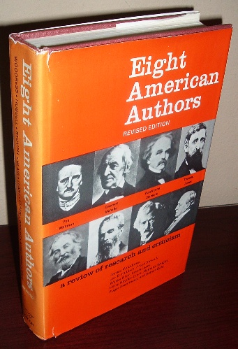 Image for Eight American Authors: A Review of Research and Criticism