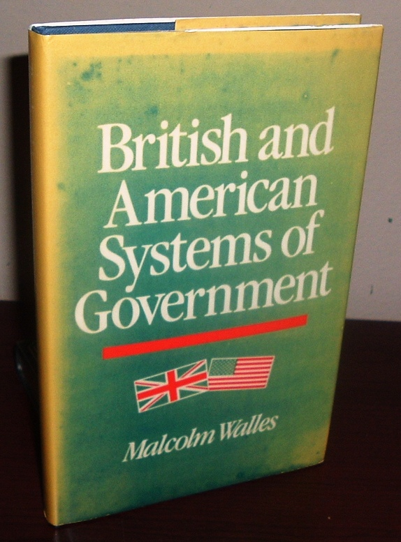 Image for British and American Systems of Government