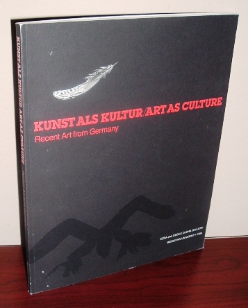 Image for Kunst Als Kultur/ Art as Culture: Recent Art from Germany