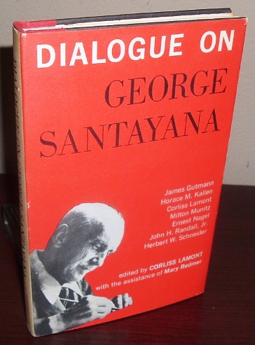 Image for Dialogue on George Santayana
