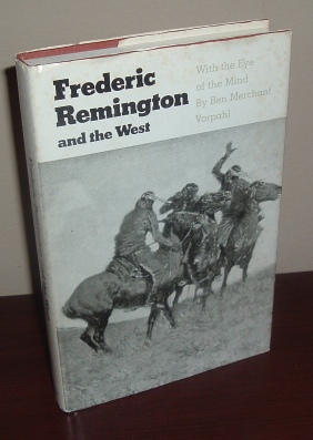 Image for Frederic Remington and the West: With the Eye of the Mind